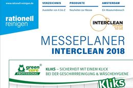 Interclean Messeplaner 2018
